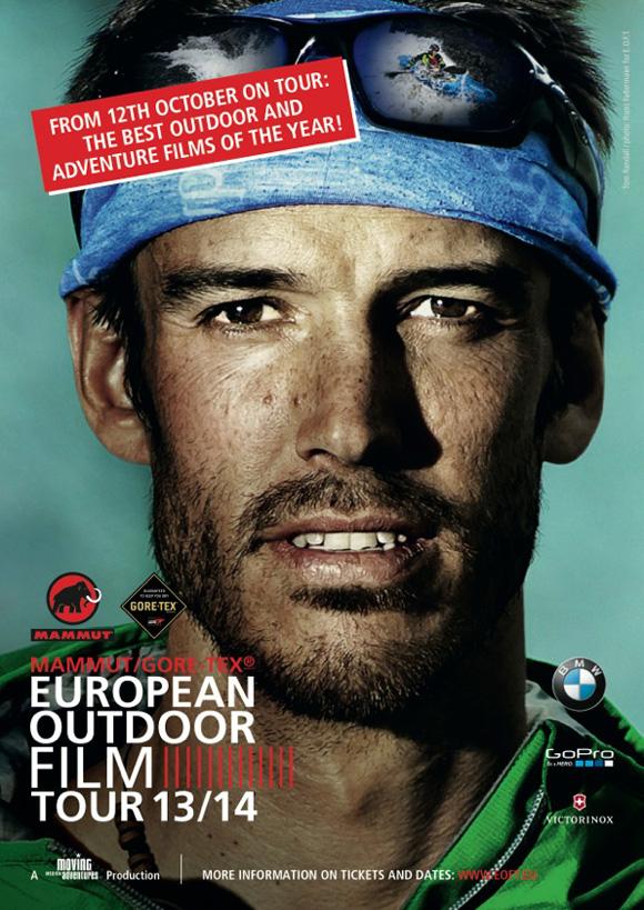 European Outdoor Film Tour 2013 Poster