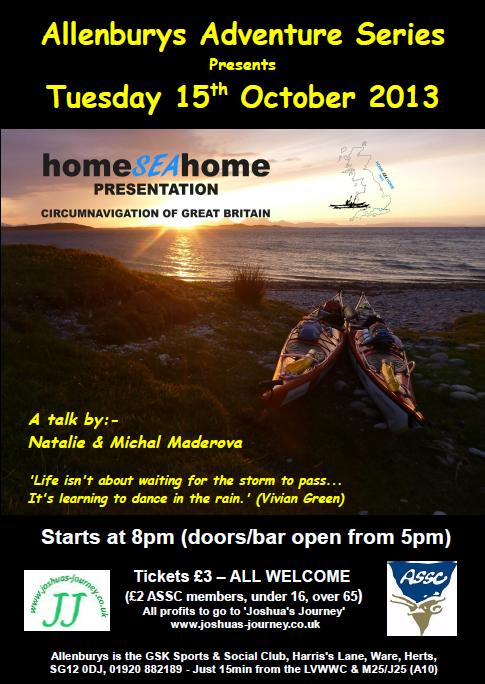Allenburys Home Sea Home Sea kayak talk