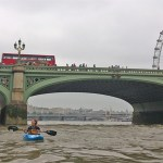 Kayaking on the tidal River Thames in London – group safety and leadership
