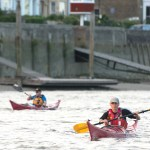 Kayak club leaders' training day on tidal Thames – 27th February 2016