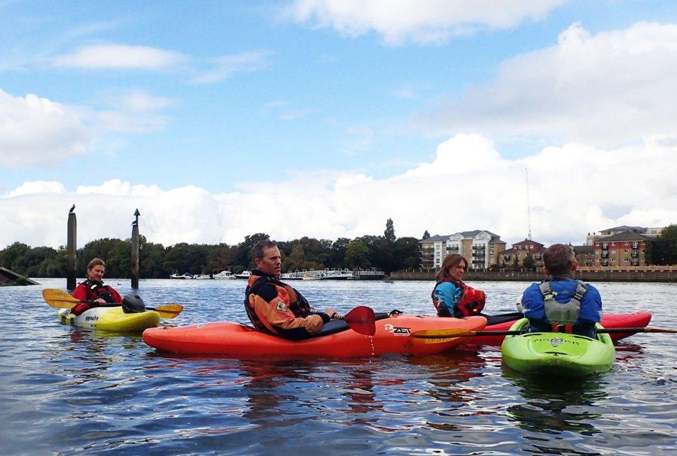 Kayaking-Wandle-Thames