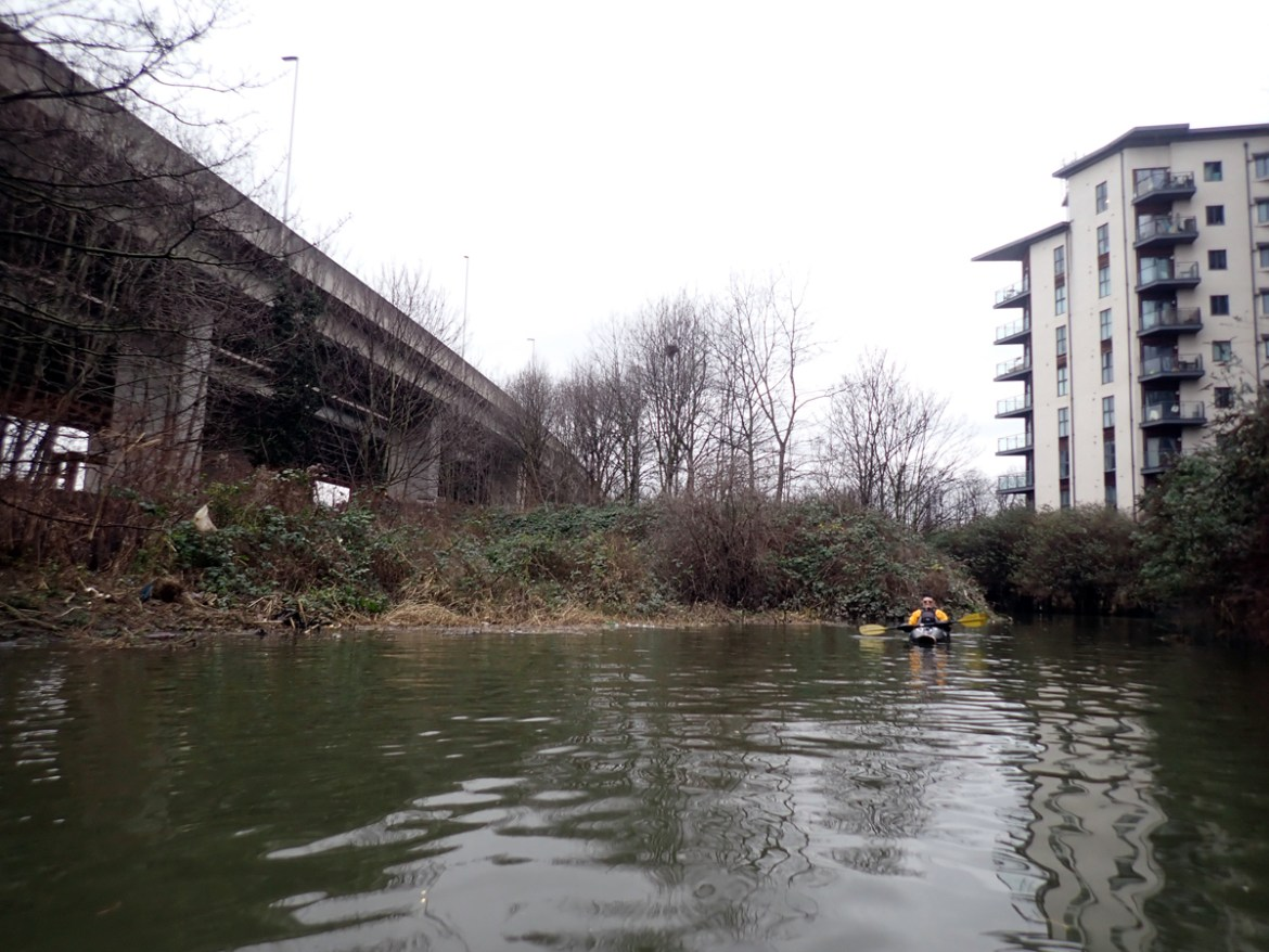 Ilford, as seen from the river below