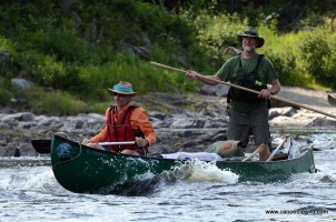 Guided Allagash canoe trip