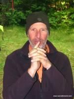 Tom at Allagash Campsite