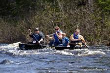 East-Grand-Adventure-Race-4-person-Family-team-canoeing