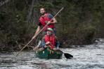 Bonaventure-River-Canoe-Trip-pole-paddle