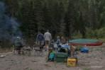Bonaventure-River-Canoe-Trip-relaxing
