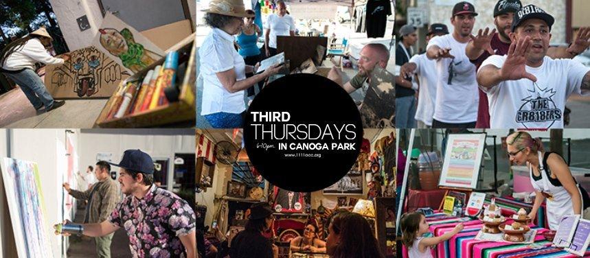 Third Thursdays in Canoga Park