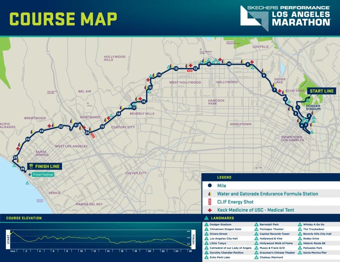 Los Angeles Marathon – Sunday, March 19