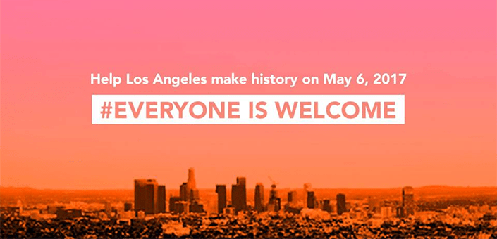 Be Part of the Los Angeles Welcome – Saturday, May 6