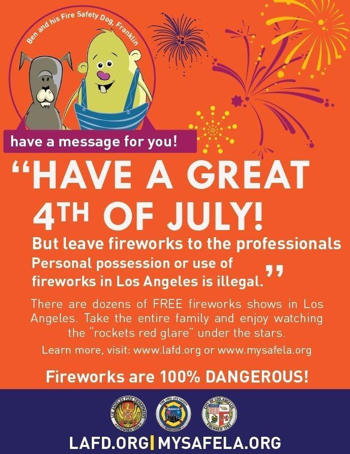 MySafe:LA – Fireworks Safety