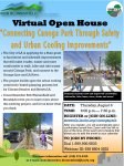 """Virtual Open House – Thursday, August 6 – """"Connecting Canoga Park Through Safety and Urban Cooling Improvements"""""""