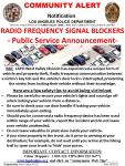 Radio Frequency Signal Blockers