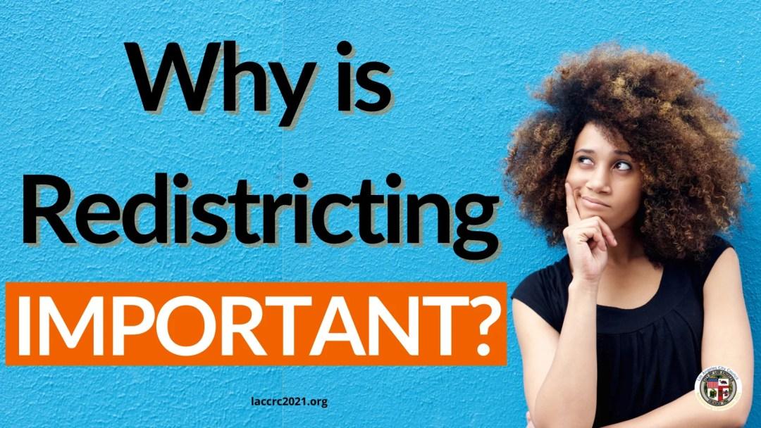 Final City Redistricting Hearing – TODAY at 10am