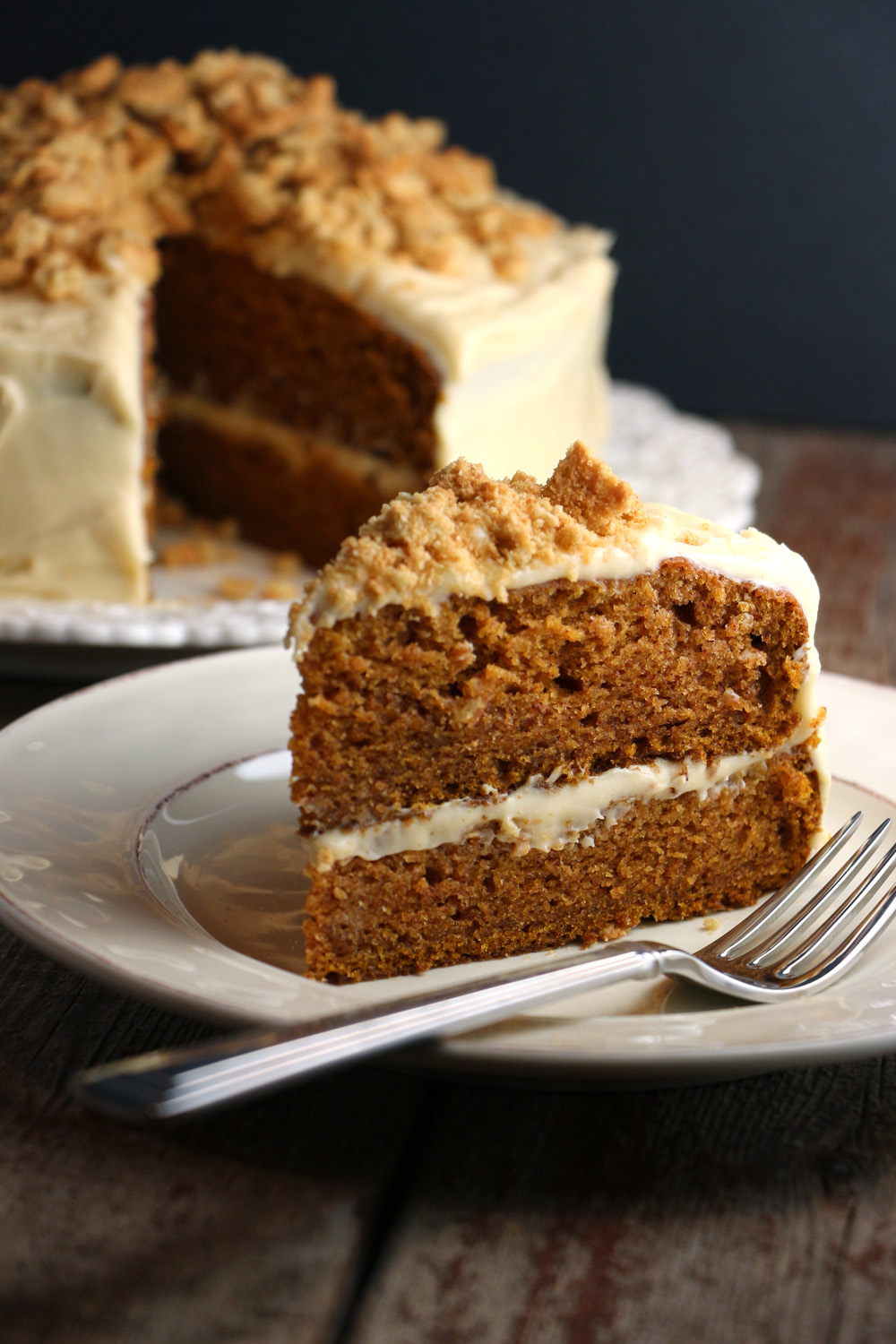 kitchen whisk cabinets st petersburg spiced pumpkin cake with molasses cream cheese frosting ...
