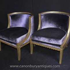 Tub Chair Covers Ebay Cover Rentals In Chennai French Regency Chairs Arm Fauteils Gilt Frame Bergere