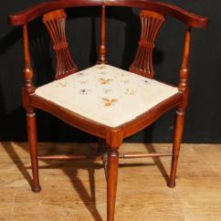 Bergere Chairs Muuto Nerd Chair Antique Edwardian Corner Seat Mahogany Inlay 1910