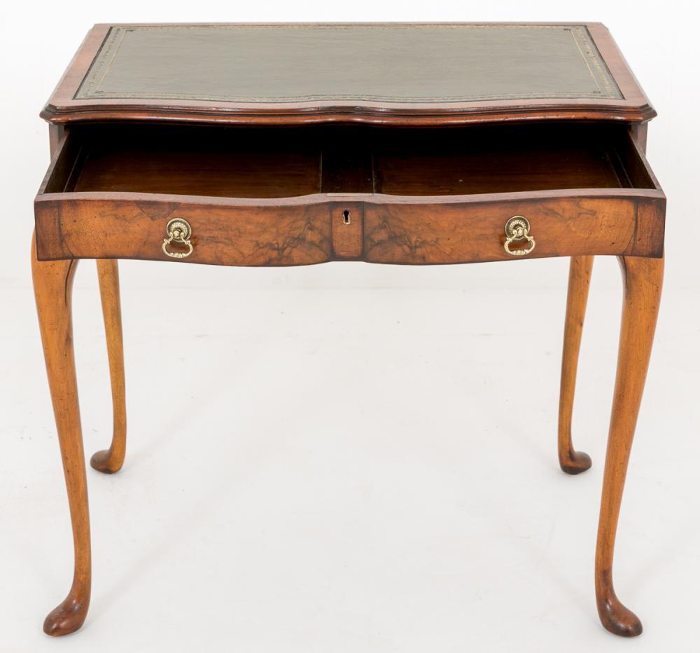 Antique Queen Anne Writing Table Ladies Desk