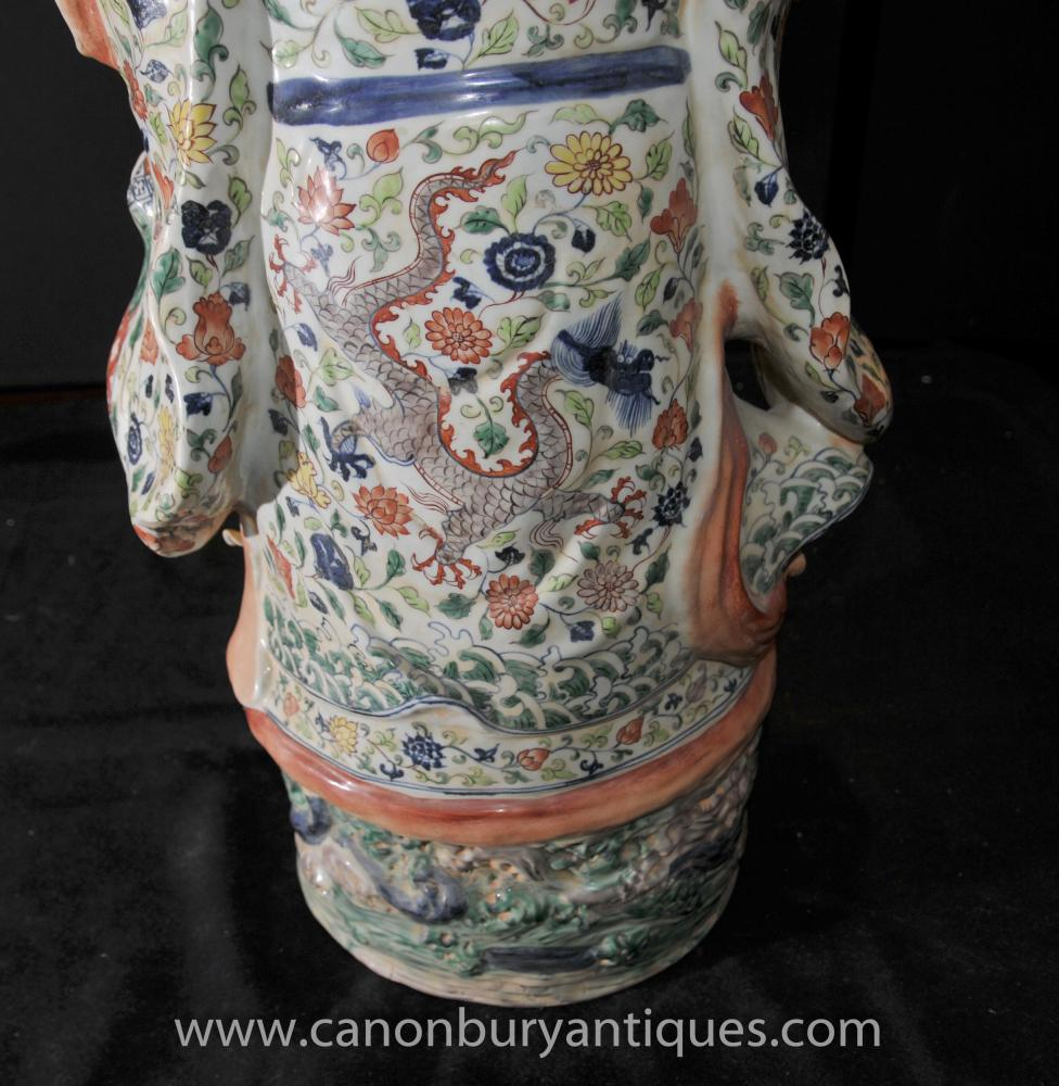 Chinese Porcelain Hand Painted Men