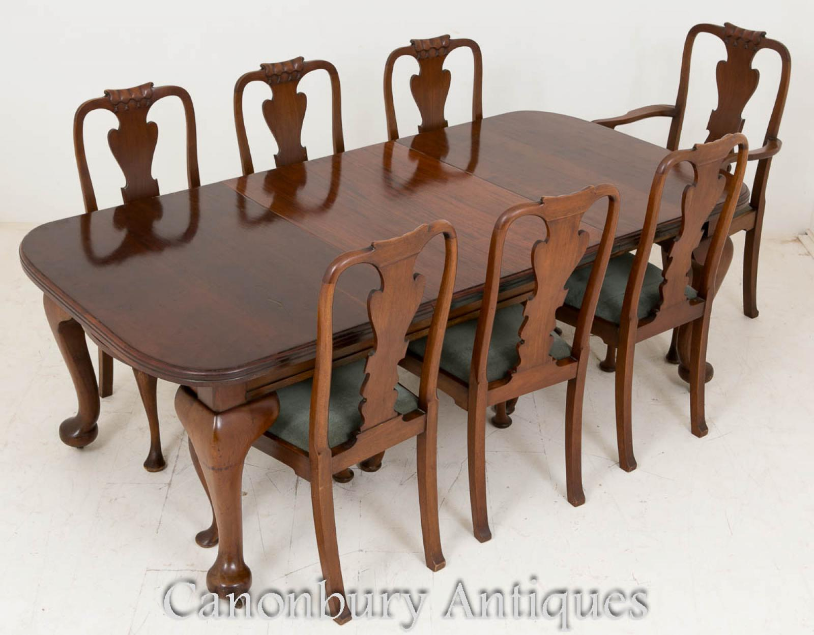 victorian table and chairs enduro fishing chair dining set mahogany tables 1900 ebay