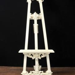 Tall Back Dining Chairs Vinyl Lounge Victorian Painted Easel Painting Stand Artist Architectural