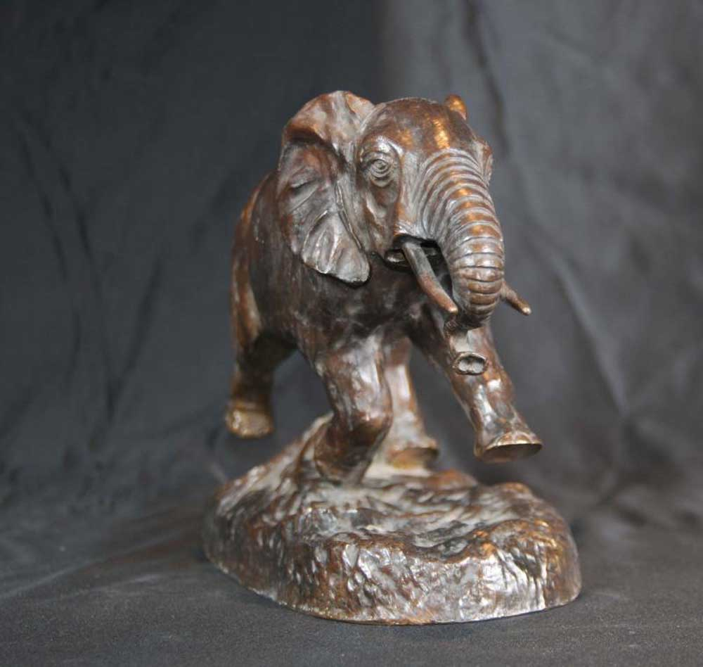 Bronze Casting Elephant Statue Animals