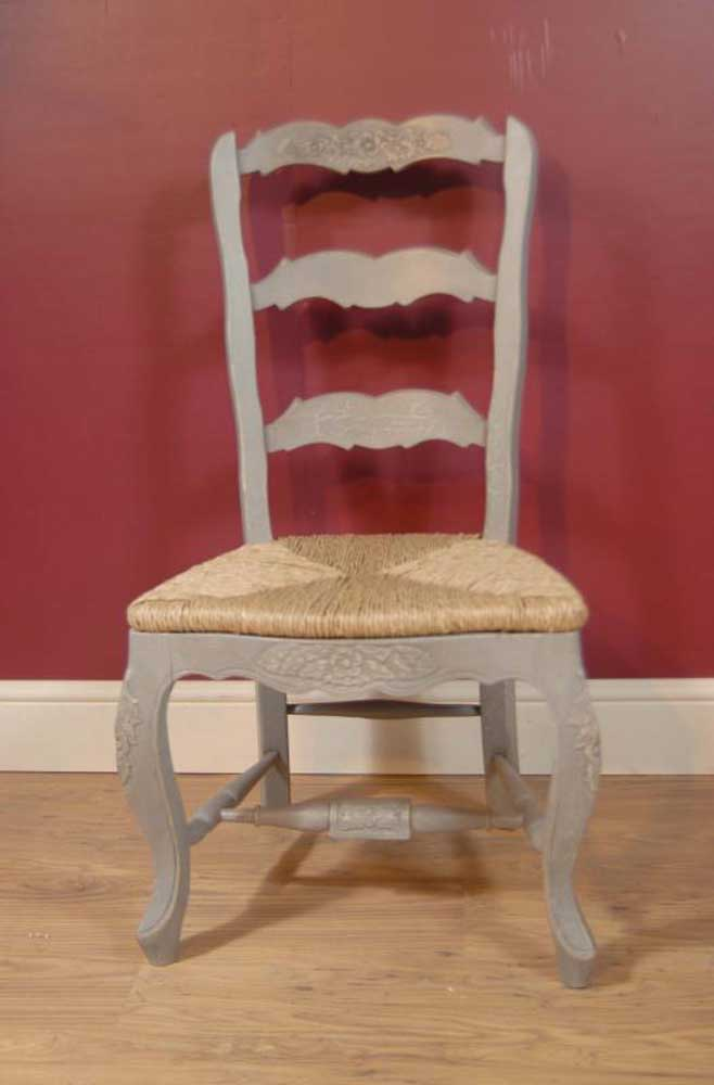 ladder back dining chairs office chair canada english farmhouse painted ladderback & kitchen refectory table set