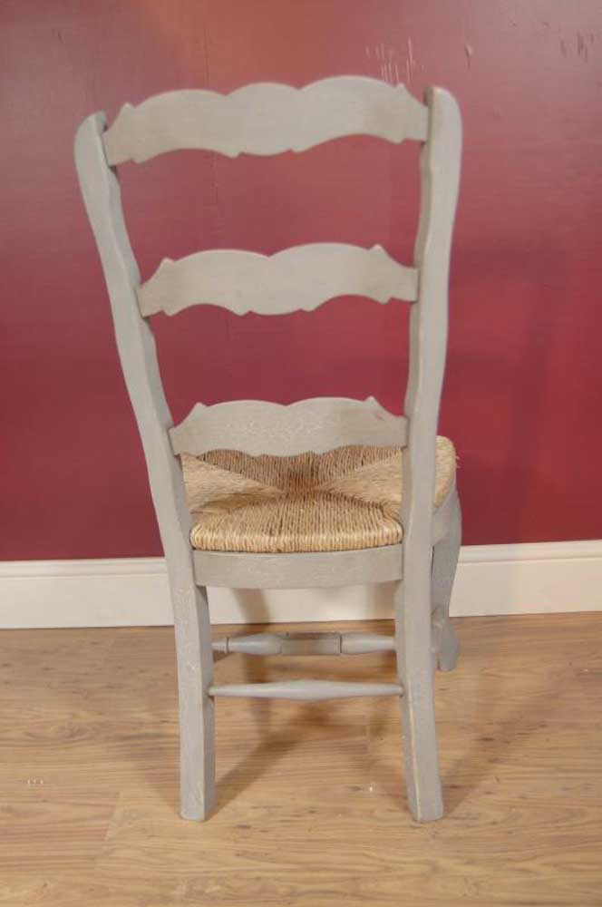 English Farmhouse Painted Ladderback Chair Amp Kitchen