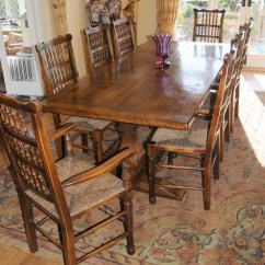 Chinese Kitchen Cabinets Modern Lights Farmhouse Refectory Table Spindleback Chair Set Dining