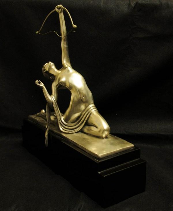 Art Deco French Bronze Statues