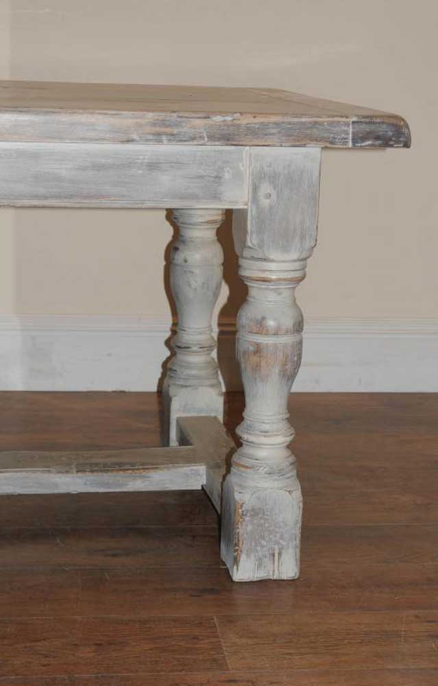 painted round kitchen table cabinet brands reviews oak rustic refectory dining