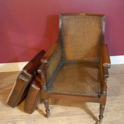 French Bergere Chair Gaming Race Pair Regency Chairs Leather Arm Walnut