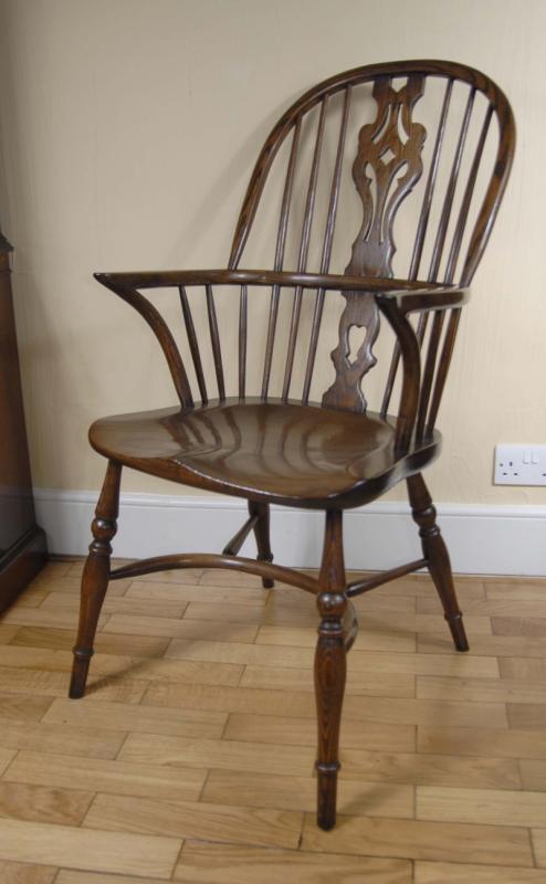 antique windsor chairs for sale recliner chair covers dunelm pair farmhouse oak kitchen   ebay