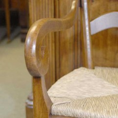 Queen Anne Dining Chair Resin Rocking Set 6 English Carved Ladderback Rustic Chairs Ladder