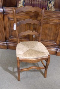 Set 6 English Carved Ladderback Rustic Chairs Ladder Chair ...