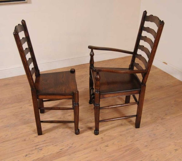 Farmhouse Ladder Back Dining Chair