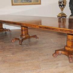 Antique Kitchen Table Backsplash Tile Ideas Dining Tables Walnut Regency Extending 14 Ft Diner