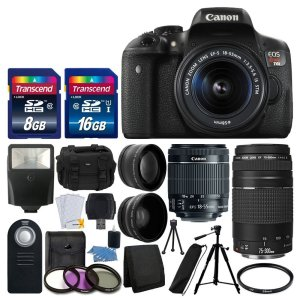 best Canon T6i bundle