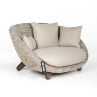 Moooi Love Sofa beige/bruin Boucl Comp - Canoof.nl