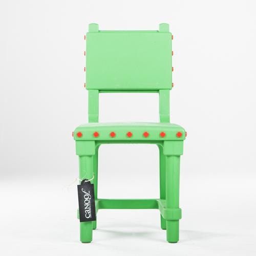 Moooi Gothic Chair groen