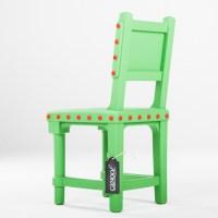 Moooi Gothic Chair groen - Canoof.nl