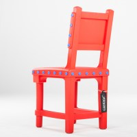 Moooi Gothic Chair rood - Canoof.nl
