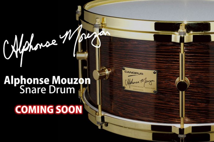 [Coming Soon] Alphonse Mouzon Special Signature Snare Drum