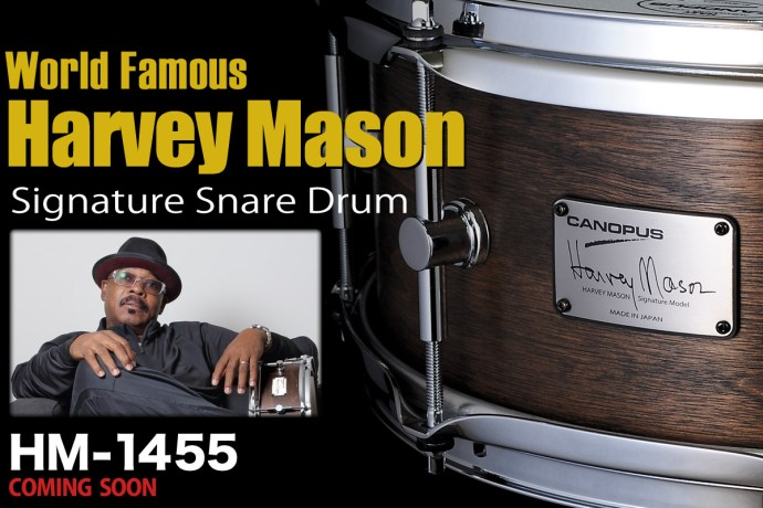 [Coming Soon] Harvey Mason Signature Snare Drum