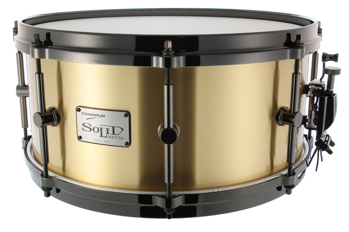 3mm Solid Brass Snare Drum SO3B−1465