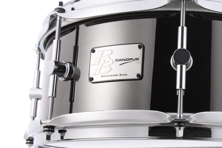 Black Nickel Brass Snare Drum