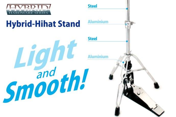 Hybrid Hi-hat Stand