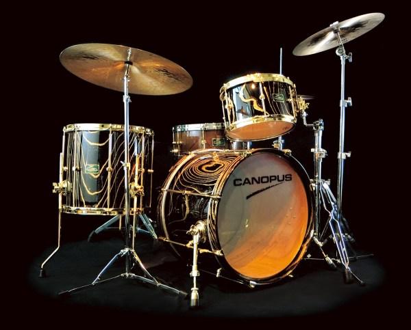 zelkova drum set