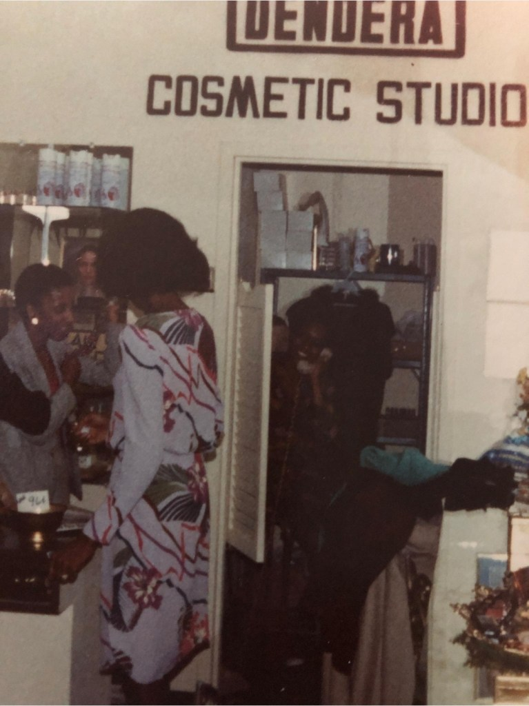 Stylists work at Dendera Cosmetic Studio