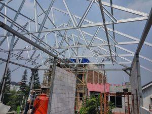 harga baja ringan taso di semarang order 0822 14146314 rangka atap kanopi